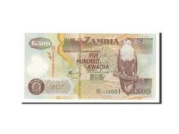 Zambie, 500 Kwacha, 2003, KM:43b, 2003, NEUF - Zambie