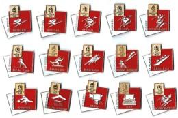 JO ALBERTVILLE 92 - SITES OLYMPIQUES Et SPECIALITES -  Série De 15 Pin´s - Jeux Olympiques