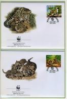1995 - MALESIA - MALAYSIA - Mi. Nr. 557/560 - OFFICIAL FDC - (CAT 2016.2 WWF) - Malesia (1964-...)