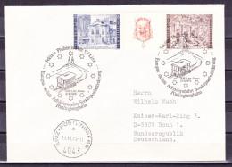 B-1629, Österreich, Stempel: Sonderpostbeförderung Adhäsionsbahn Linz-Pöstlingberg 1979, Brief Nach Deutschland - Poststempel - Freistempel