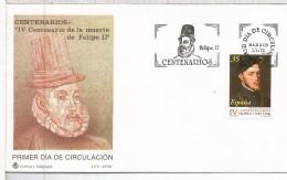 MADRID FDC SPD 1998 REY FELIPE II - Royalties, Royals