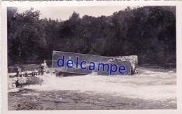 Le GAVE D'OLORON - Carte Photo De La Descente En Canoë Au Moulin De Lass (64) - France