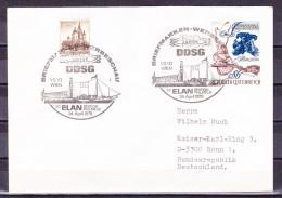 B-1741, Österreich, Stempel: 150 J. DDSG 1979, Brief Nach Deutschland - Poststempel - Freistempel