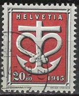 Spende 1945 Zu WIII 20 Mi 444 Yv 404 Mit O (SCHWYZ) ?.VI.45 (Zu CHF 12.00) - Suisse
