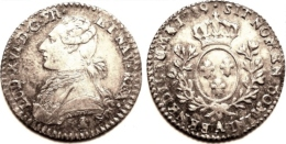 FRANCE LOUIS XVI 1/10e D´écu 1789/79 A PARIS TTB/SUP - 987-1789 Royal