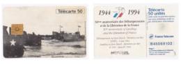 Carte Telephonique Débarquement 1944 France - Armee