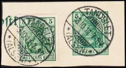 1911. TANDSLET (ALSEN) 3.10.11. 5 PF GERMANIA.  (Michel: ) - JF194127 - Ocupación 1914 – 18