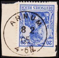 1905. ARNUM 8 2 05 20 PF GERMANIA.  (Michel: ) - JF194049 - Besetzungen 1914-18