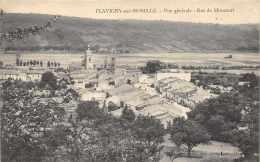Flavigny-sur-Moselle - Vue Générale - Rue De Mirecourt          ( 2 Scans ) - France