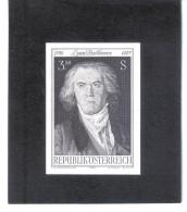 TAU216 ÖSTERREICH 1970 SCHWARZDRUCK MICHL 1352  OHNE GUMMI Siehe ABBILDUNG - 1961-70 Unused Stamps
