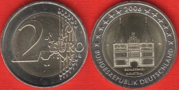 "Germany 2 Euro 2006 ""Schleswig-Holstein"" 1 Mint BiMetallic UNC - Germany"