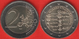 "Austria 2 Euro 2005 ""Austrian State Treaty"" BiMetallic UNC - Autriche"