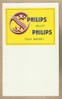 -** PHILIPS  **- - Buvards, Protège-cahiers Illustrés