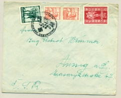 Österreich - 1938 - Mixed Franking Deutsches Reich / Führer / Schützverband Der Blinden Österreichs - Covers & Documents
