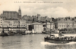 62 PAS DE CALAIS - BOULOGNE SUR MER Le Port Et Les Hauteurs Du Quartier St-Pierre - Boulogne Sur Mer