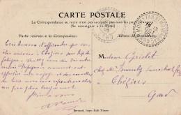 """Gard- Rares Cachets """"perlé""""  - THERZIERS , MOULEZAN ET MONTAGNAC- Sur Carte De Nimes - 3 Scan"""