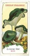 Chromo Chocolat Aiguebelle - Champignons - Clitocybe Vert - Aiguebelle