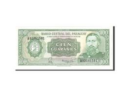 Paraguay, 100 Guaranies, 1952, KM:199b, Undated, NEUF - Paraguay
