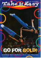 Take It Easy - Volume XIX - Number 1 - September 2000   GO FOR GOLD - - Sports