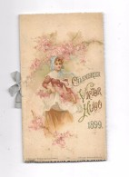 Beau Calendrier 1899 Victor Hugo - Calendriers