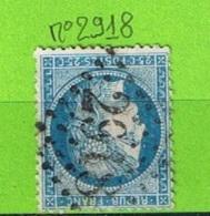 OBLIT GC N°2918 POLIGNY - JURA - Marcophilie (Timbres Détachés)