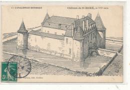 SAINT MORE L'Avallonnais Historique Château De Saint MOré XVI è S Carte Dessinée - France
