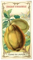 Chromo Chocolat Aiguebelle - Coing Du Japon - Aiguebelle
