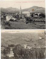VABRES - 2 CPA - Eglise - Vue Générale  (86420) - Francia