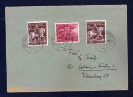 DR 5.3.1945, Brief Mit 2 X 907 Und 908 Volkssturm, Aus Neheim - Hüsten - Germania