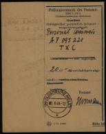 Einzahlungsbeleg Postamt Oldenburg 3.6.1948 - Bizone