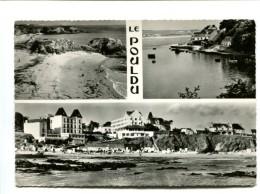 Cp - LE POULDU (29) - Deux Des Plages Du Pouldu Et Le Port Sur La Laïta - Le Pouldu