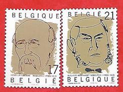 868 ~~ 1999 - BELGIQUE  N°  2838 / 39**  Neufs - Belgique