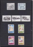 Faroe, 1982 Yearset, Mint In Folder, Vikings, Villages And Traditions, 3 Scans.  Michel 70-78 - Isole Faroer
