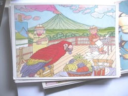 New Zealand Graham Percy Illustration For Children A - Nieuw-Zeeland