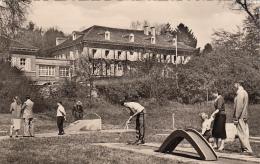 GERMANY - Bad Salzhausen 1966 - Minigolf Platz - Nidderau