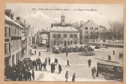 356. - VILLARS De LANS En Hiver. - La Place Et La Mairie - Trés Animée - Villard-de-Lans