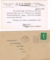 17536. Carta WHITSTABLE (Kent) England 1940. Card Veessey Philatelic Auction - 1952-.... (Elizabeth II)