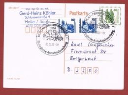 Berlin (DDR) SST Biologische Antarktisforschung SST 6/9/1990 - Protection De L'environnement & Climat