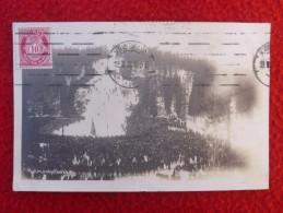 DANEMARK KRISTIANIA HOLMENKOLLBAKKEN CARTE PHOTO Voir CENSURE VIGNETTE CROIX ROUGE - 1913-47 (Christian X)