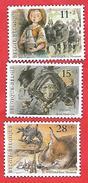 889 ~~ 1992 - BELGIQUE  N°  2465 / 67**  Neufs - Belgique