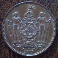 (J) BRITISH NORTH BORNEO: Cent 1882 XF+ (797)   LIQUIDATION SALE!!!!!!!!! - Colonias