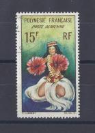 POLYNESIE . YT PA  7  Obl  Danseuse Tahitienne  1964 - Poste Aérienne