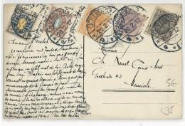 SUEDE - 1912 - CARTE POSTALE De GÖTEBORG Pour MÜNCHEN (ALLEMAGNE)