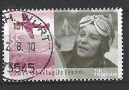 BUND Mi-Nr. 2814 - 75. Jahrestag Des Rekordfluges Von Elly Beinhorn Gestempelt (3) - [7] République Fédérale