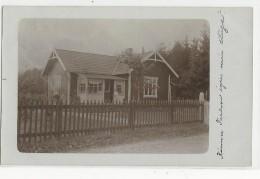 SUEDE - 1924 - CARTE PHOTO  VOYAGEE Pour LERUM - Suède