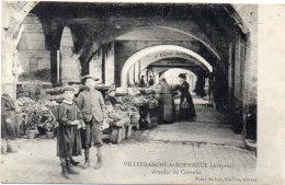 VILLEFRANCHE DE ROUERGUE - Arcades Du Consulat   (86449) - Villefranche De Rouergue