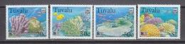 Greenpeace 1999 Tuvalu Corals 4v ** Mnh (29077) Promotion - Tuvalu