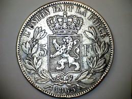 Leopold II - 50 Franc - 1865 - 09. 5 Francs
