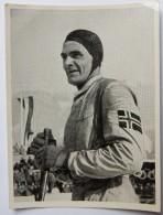 VIGNETTE JEUX OLYMPIQUES J.O Garmisch-Partenkirchen OLYMPIA 1936 PET CREMER DUSSELDORF BILD 118 COMBINE NORDIQUE HAGEN - Tarjetas