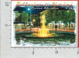CARTOLINA VG ITALIA - BELLARIVA DI RIMINI - Piazza Gondar - Notturno - 10 X 15 - ANN. 2009 - Rimini